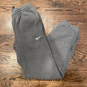 Unisex Gray Nike Joggers